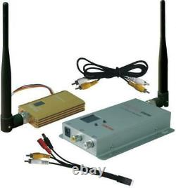 0.9GHZ FPV System 1500mW Wireless AV Video Transmitter and Receiver 900Mhz Tx