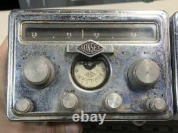 1950s Gonset G-66B Receiver G-77A Transmitter Vintage Ham Radio for Parts/Repair