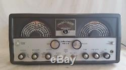 1950s HALLICRAFTERS RADIO SX-99 Shortwave Ham Receiver/Transmitter, Broadcast