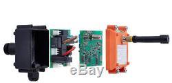 1Transmitter + 1Receiver F21-2S Wireless remote control for Radio Hoist Crane