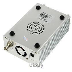 1W /6W PLL FM Transmitter Radio Stereo Station Broadcast+TNC Antenna+30Receiver