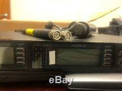 1x Shure UR4D L3 Band (638 698 MHz) Wireless Receiver + 1x UR2 Transmitter