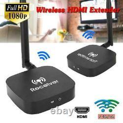2.4/5G WiFi Wireless HDMI Extender HD 1080P Video Audio AV Transmitter Receiver