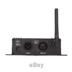 2.4G Wireless DMX512 Controller Transmitter Receiver +10 Female Receiver US Q1S7