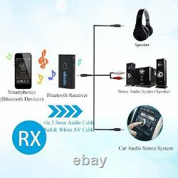 2 in1 Wireless Bluetooth Stereo Transmitter and Receiver Audio/TV/DVD Adpater