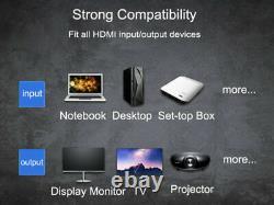 200m 1080P Wireless HDMI Extender Transmitter Audio Video TV Receiver IR Remote