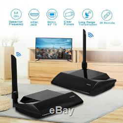 300M 5.8GHz HDMI WIRELESS AV Sender TV Wireless Audio Video Transmitter Receiver