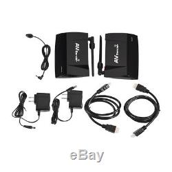 300m 5.8GHz Wireless HDMI AV Sender Transmitter Receiver Audio Video US Stock