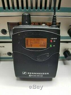 (4) Sennheiser Sr300 Iem Transmitter, (4) Ek300 Receiver, 1 Ac3 Combiner A&b Band