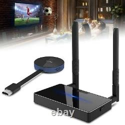 4K@30Hz Wireless HDMI Transmitter Receiver Extender Kits TV Video/Audio Adapter