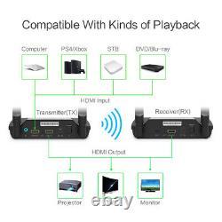 5G Wireless 1080P 3D Hdmi Extender TV Audio Video Transmitter & Receiver PAT-590