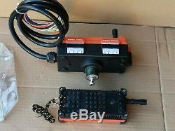 AC 380V 8 Keys Transmitter & Receiver Hoist Crane Radio Wireless Remote Control