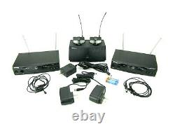 AKG SR450 Receivers, PT450 Transmitters, C417L Mics, & CU400 Charging Base