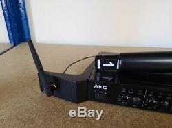 AKG TETRAD Radio Mic System 1 x Transmitter 1 x 4 mic Rack Mount Receiver