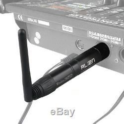 ALIEN Wireless DMX 512 Dfi Controller XLR Receiver Transmitter For Stage Lights