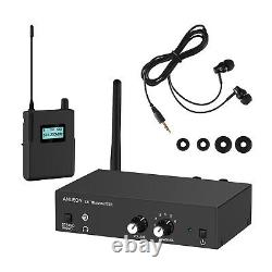 ANLEON S2 UHF Stereo Wireless Monitor System In-ear System 1 Transmitter 1 Recei