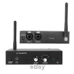 ANLEON S2 Wireless Stereo UHF Monitor System In-ear Stage Transmitter Receiver