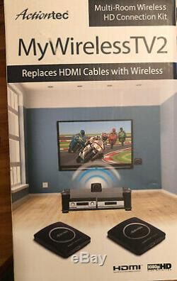 Actiontec Wireless HDMI Transmitter & Receiver Extender, Full HD 1080P