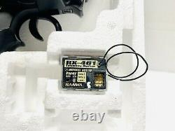 Airtronics/Sanwa Mt-4 Telemetry 2.4Ghz Radio Rc Transmitter With 4ch 461 Receiver