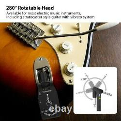 Ammoon 2.4G Wireless Rechargeable Electric Guitar Transmitter Receiver
