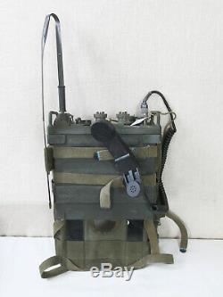 #B FUNKGERÄT RADIO Receiver Transmitter Tadiran RT-505 / PRC-25 mit Tragegestell