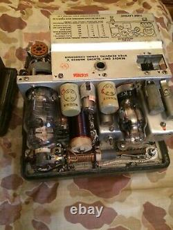 Bc-1306 Rare Ww2 1944 Us Army Radio Receiver &transmitter Bc 1306