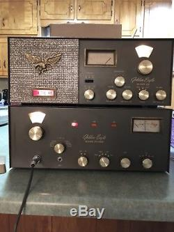 Browning Golden Eagle Mk III Receiver & Transmitter Ssb Cb Hf Am Usb Tube Radio