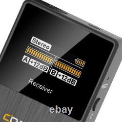 COMICA BoomX-D D2 2.4G Digital Trigger Wireless Microphone Transmitter Receiver