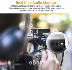 COMICA BoomX-D D2 2.4G Digital Wireless Microphone Transmitter Receiver Kit DHL