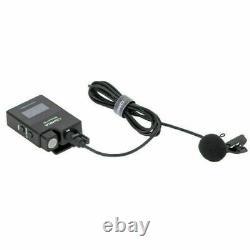 COMICA BoomX-D D2 2.4G Wireless Lavalier Microphone + 2x Transmitter Receiver US