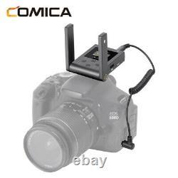 COMICA BoomX-U U2 Broadcast Level UHF Wireless Microphone Transmitter Receiver
