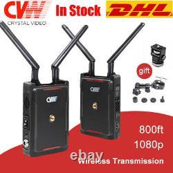 CVW SWIFT 800 800ft Wireless Video Transmission System HDMI Transmitter Receiver