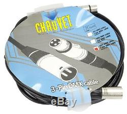 Chauvet DJ D-FI Hub Wireless DFI 2.4 GHz DMX Transmitter or Receiver with Cables