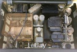 Collins ham radio receiver speaker transmitter set 75A1 32V-2 270G-1