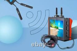 DHL FORHOPE XM155 5.5 3 in1 Camera DSLR Monitor Wireless Transmitter+Receiver