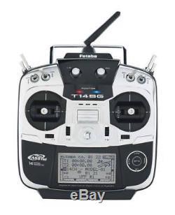 DHL New FUTABA 14SG 14SGH T14SG RADIO FASST RC TRANSMITTER + R7008SB Receiver