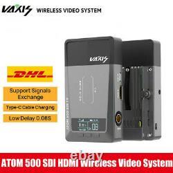 DHL Vaxis ATOM 500 SDI HDMI Dual Interface Wireless Video Transmitter Receiver