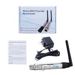 DMX512 Receiver Transmitter 2.4G Wireless Lighting Controller for DMX Equipment