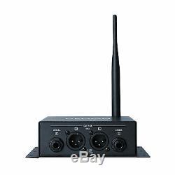 Denon Professional DN-202WT & DN-202WR Wireless Audio Transmitter & Receiver Kit