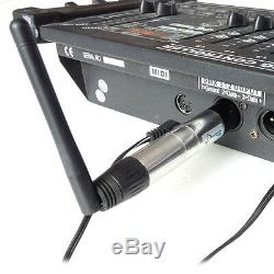 Donner Wireless 7Receiver+1Transmitter 2.4G DMX512 DJ Unit Lighting Controller