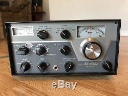 Drake R-4C SSB/AM/CW Ham Radio Receiver SN 19870