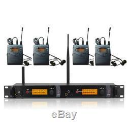 Dual Transmitter+4 receivers Wireless in ear monitor system / SR 2050 SR2000