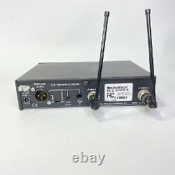 Electro-Voice RE 2 Wireless Mic Receiver and ND HTU2D 767A Handheld Transmitter