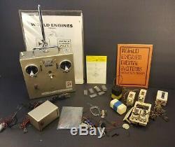 Expert Channel MK II 2 World Engines Transmitter, Receiver, Servos Radio Control
