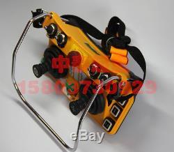 F24-60 Industrial Radio Crane remote control Transmitter+Receiver AC 110V #D1639