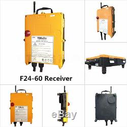 F24-60 Industrial Radio Hoist Crane remote control 1Transmitter+1Receiver 18-65V