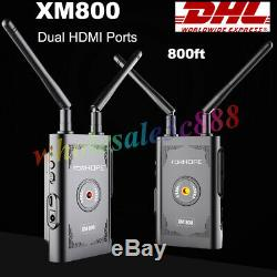 FORHOPE XM800 800FT Wireless Video Transmission System HDMI Transmitter Receiver