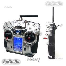 FS-i10 Flysky 2.4GHz 10CH AFHDS2 LCD Radio Transmitter & Receiver for Heli Drone