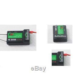 FS-i8 8CH Remote Control RC Glider Model 2.4GHz Transmitter Radio iA10B Receiver