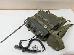 FUNKGERÄT RADIO Receiver Transmitter Tadiran RT-505 / PRC-25 mit Tragegestell